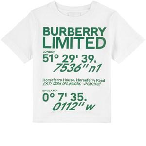 Burberry Limited T-shirt Vit 3 år