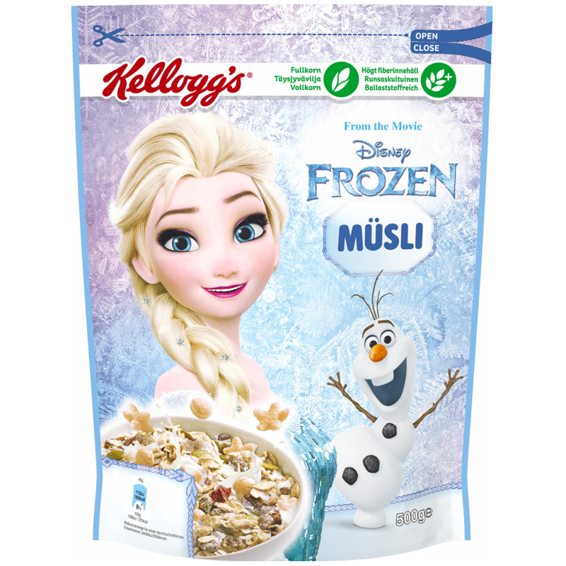 """Müsli """"Frozen"""" 500g - 49% rabatt"""