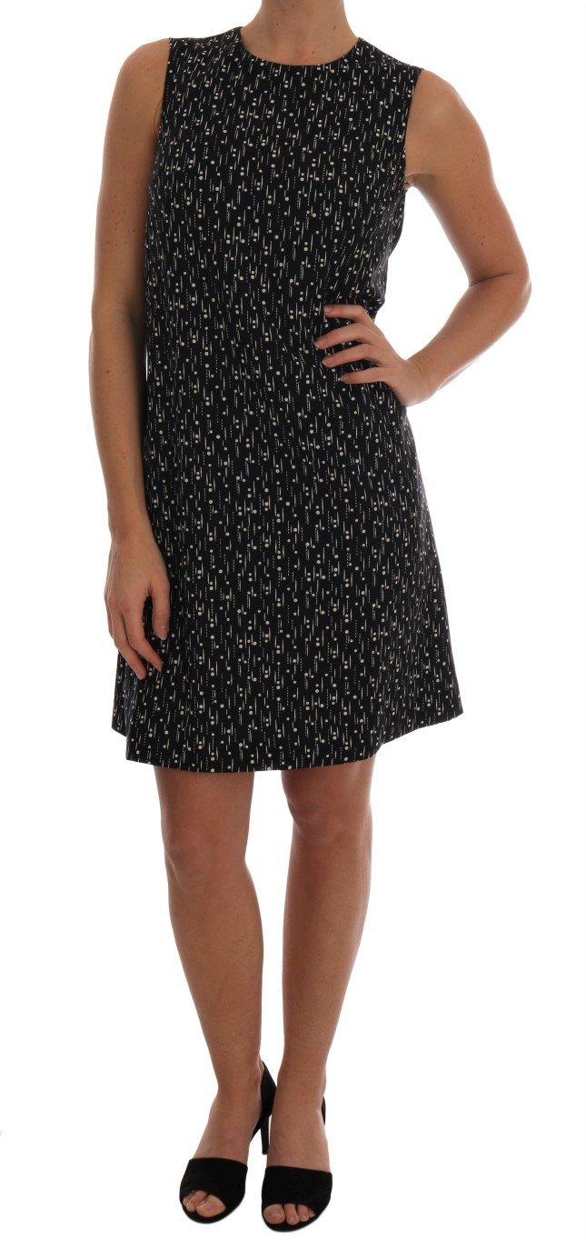 Dolce & Gabbana Women's Wool Above Knee Dress Multicolor DR1280 - IT38|XS