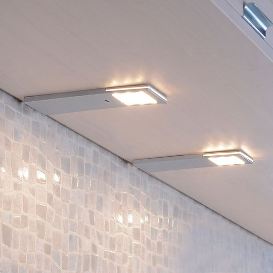 Helena-LED-kaapinalusvalo, anturi, 6,6 cm 2 kpl