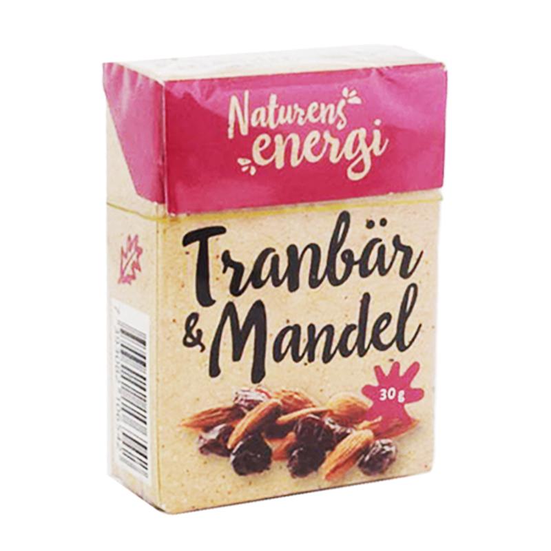 Tranbär & Mandel 30g - 61% rabatt