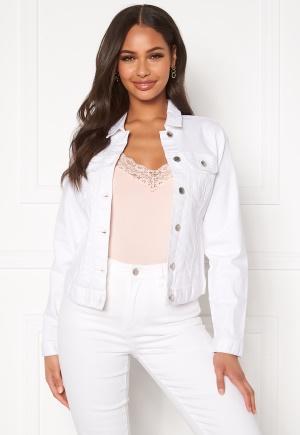 Happy Holly Skyler denim jacket White 36