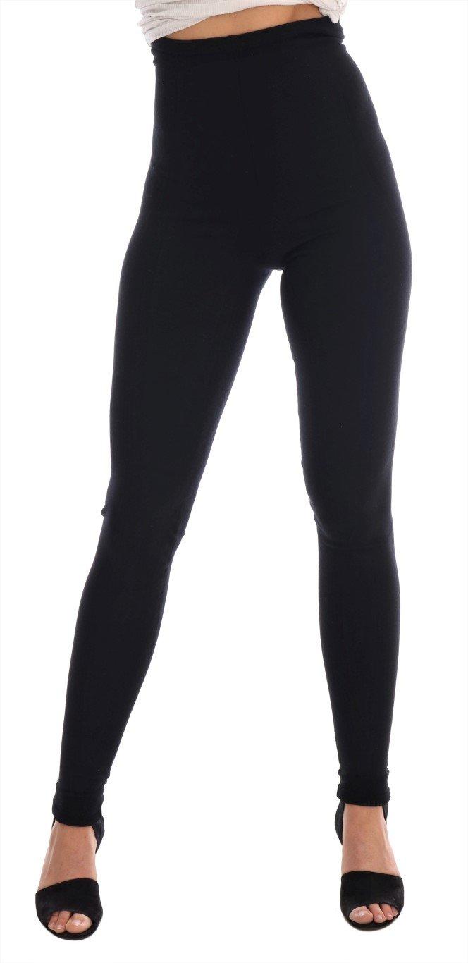 Dolce & Gabbana Women's Tights Black SCS724 - IT40 S