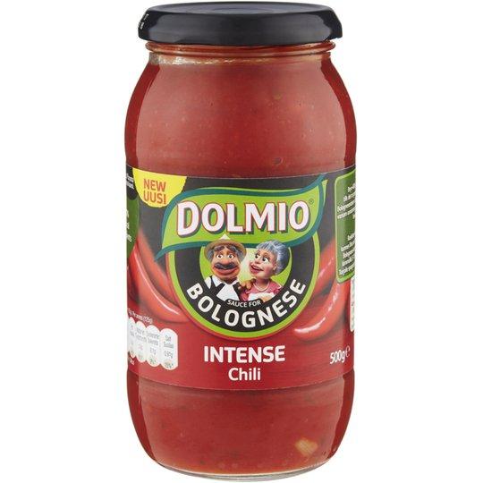 """Pastasås Bolognese """"Intense Chili"""" 500g - 44% rabatt"""