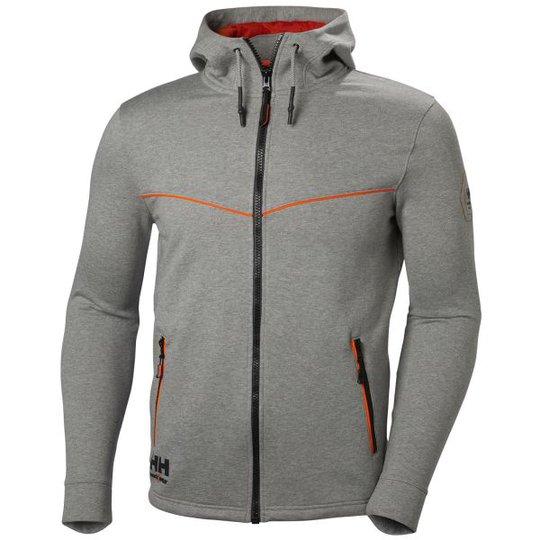 Helly Hansen Workwear Chelsea Evolution Huppari harmaa/oranssi Koko S