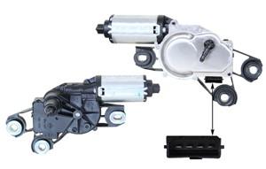 Pyyhkijän moottori, Takana, SEAT ALTEA, ALTEA XL, LEON, TOLEDO III, 5P0 955 711A, 5P0 955 711B, 5P0 955 711C, 5P0955711C