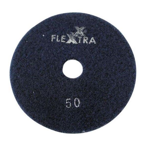 Flexxtra 100.169 Diamantslipeskive 125 x 4 mm, våt/tørr Grit 50