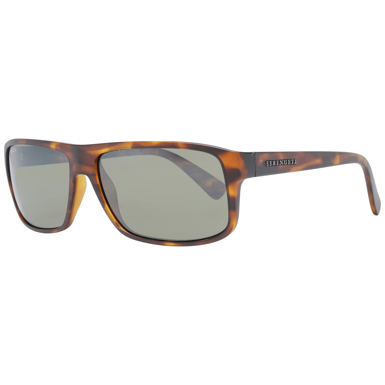 Serengeti Men's Sunglasses Brown 7953