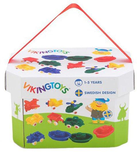 Viking Toys Knubbisar i Bøtte, 10-pack