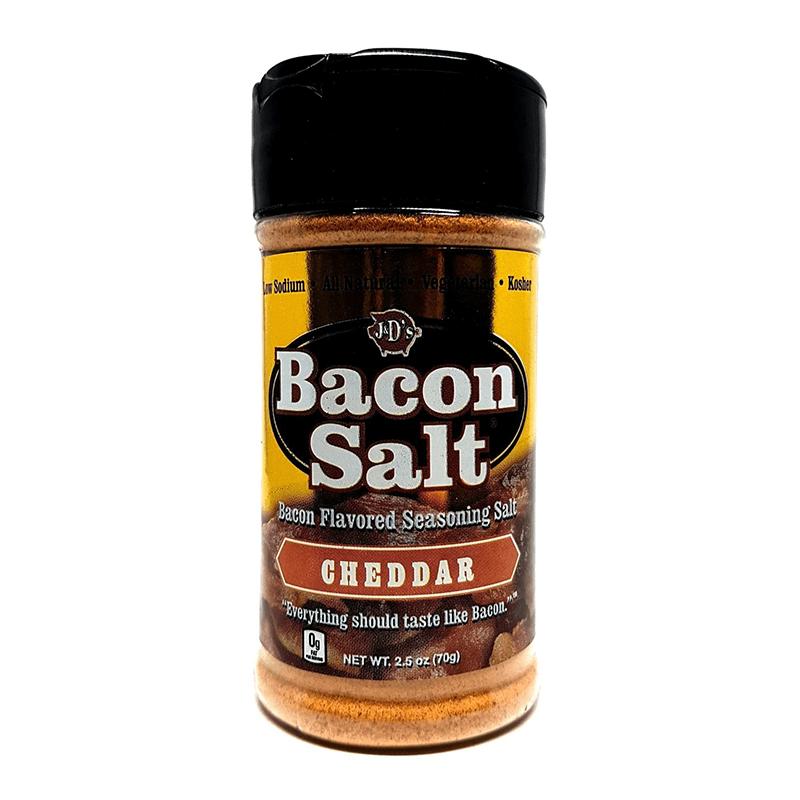 J&Ds Cheddar Bacon Salt 57g