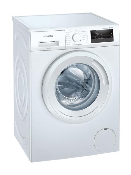 Siemens Wm12n0l2dn Iq300 Tvättmaskin - Vit