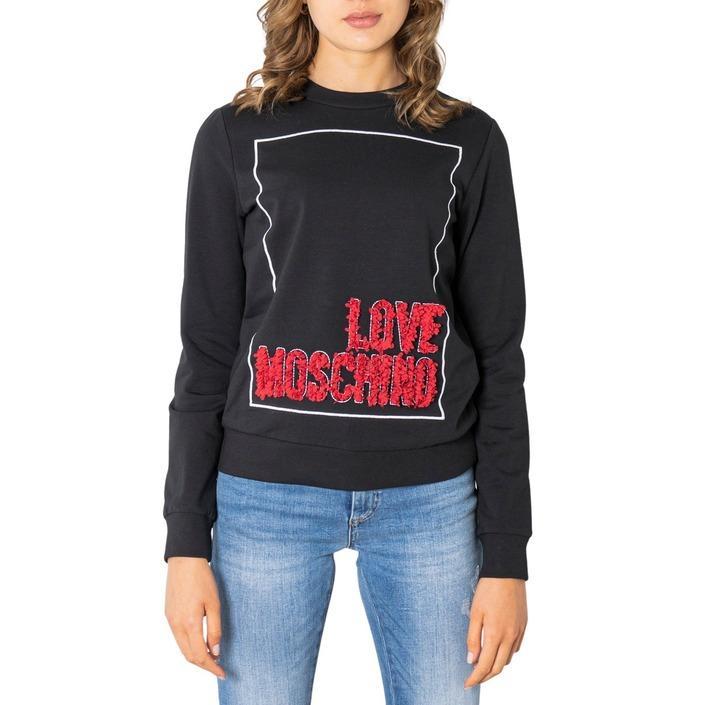 Love Moschino Women's Sweatshirts Black 322041 - black 38