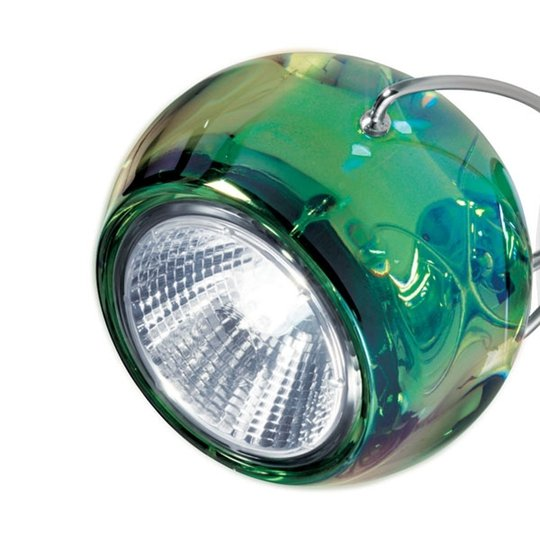 Hieno design-riippuvalaisin BELUGA COLOUR, vihreä