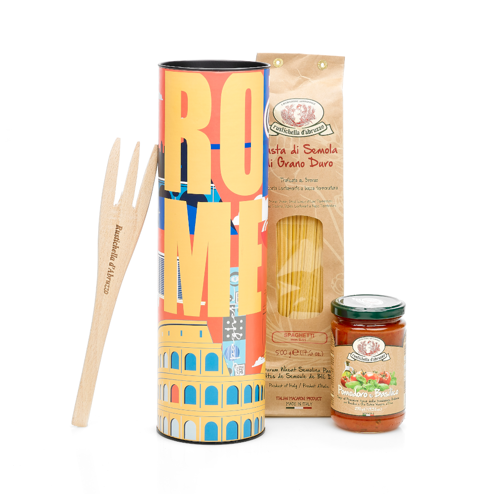 Travellers' Tins: Rome 770g by Rustichella