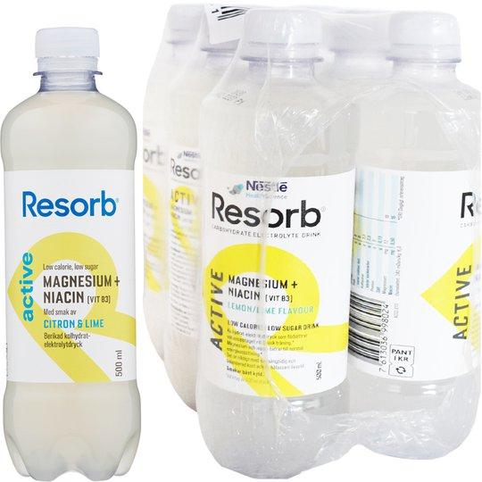 Active vätskeersättning Citron & lime 6-pack - 81% rabatt