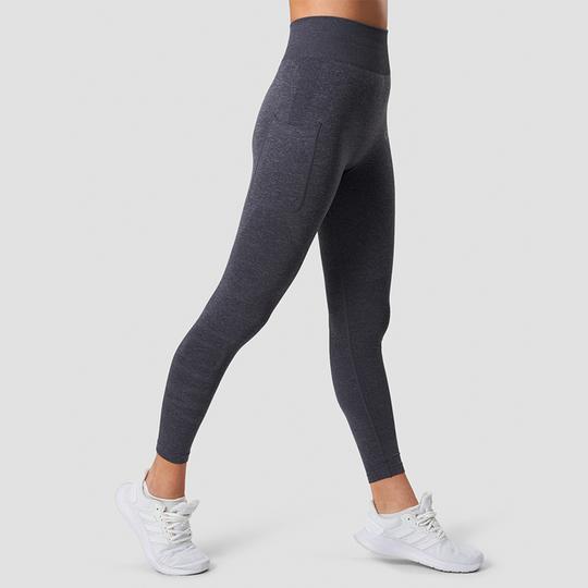 Define Seamless Pocket Tights, Grey Melange
