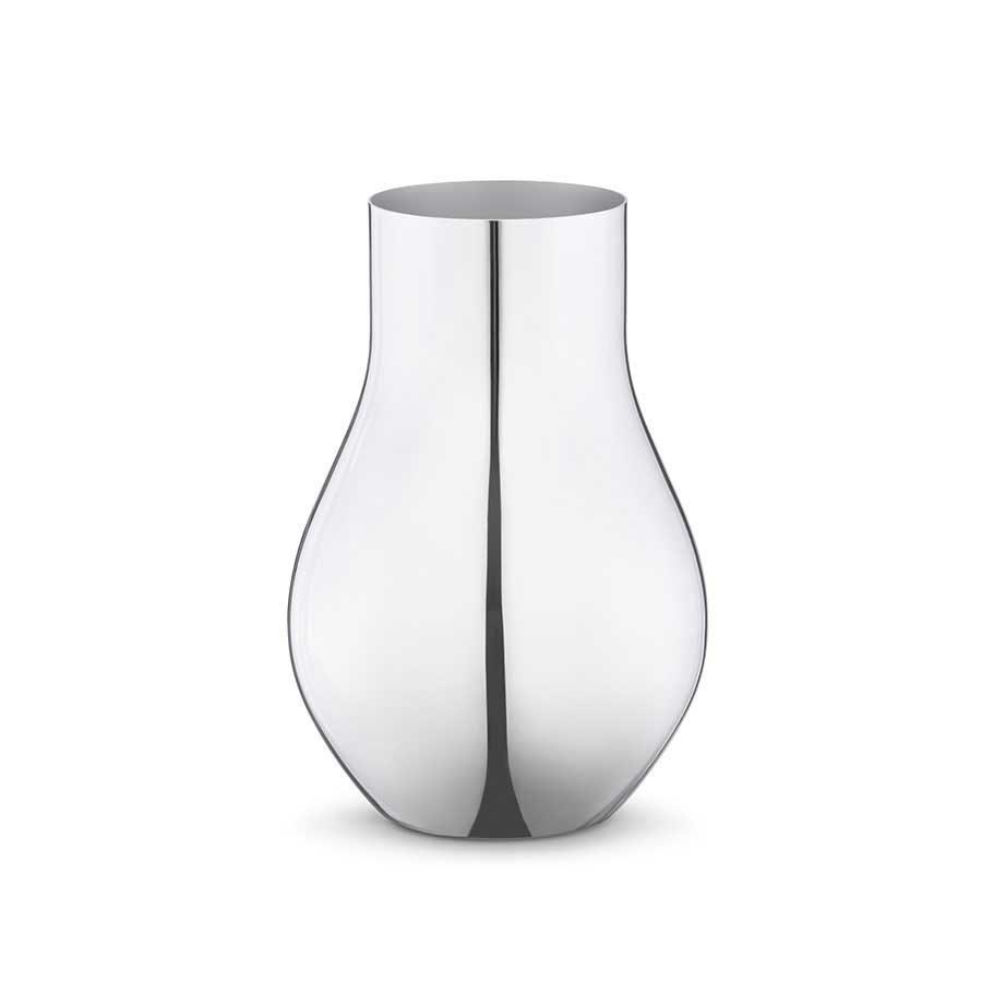Georg Jensen Cafu Vase S 148X216 Stål
