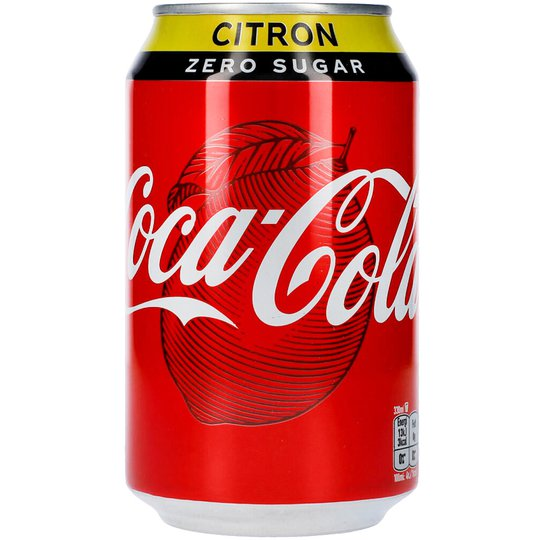 Coca-Cola Zero Citron - 22% rabatt