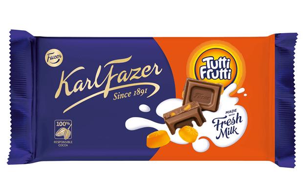Karl Fazer Tutti Frutti 145g