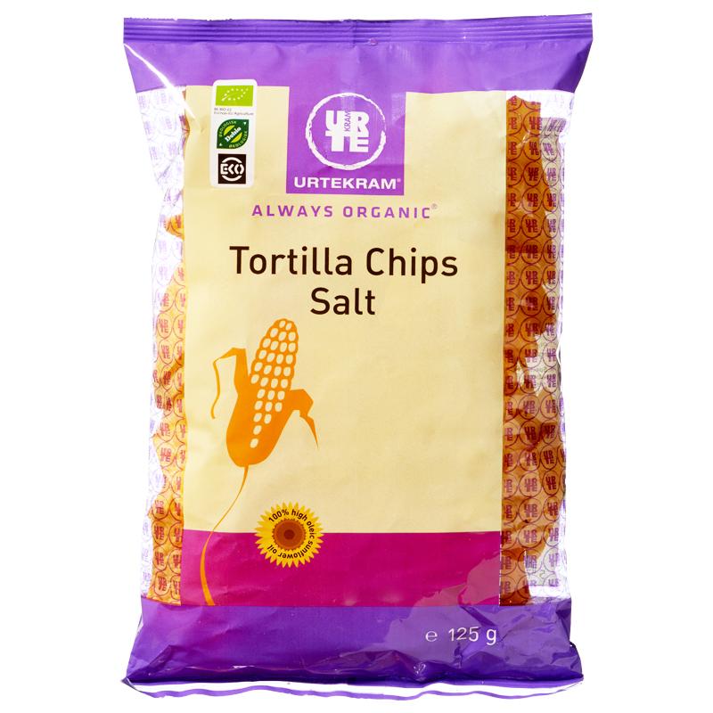 Eko Tortillachips Salt 125g - 50% rabatt