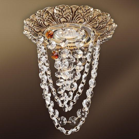 Kristallein koristeltu Mara-LED-uppovalaisin