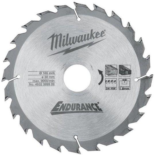 Milwaukee 4932399909 Sahanterä 165x2,6x30mm, 24T