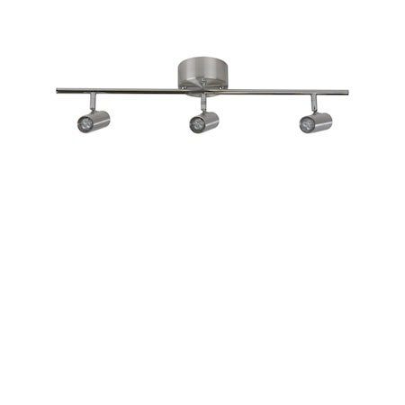 Cato Skinne Alu 3-spot Dimbar LED