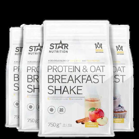 Protein & Oat Breakfast Shake, Mix&Match, 3 kg