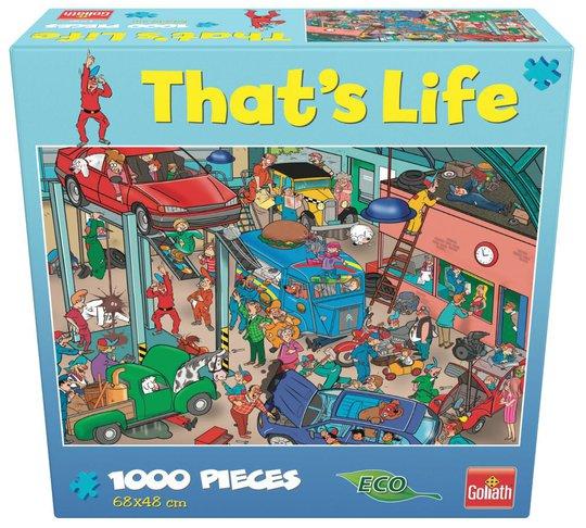Goliath Games Puslespill That's Life - Garage 1000 Brikker