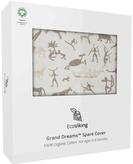 EcoViking Organic Babynest Cover Viking Cave