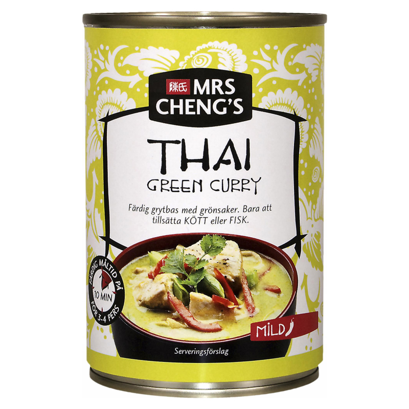 "Grytbas ""Green Curry"" 400ml - 45% rabatt"