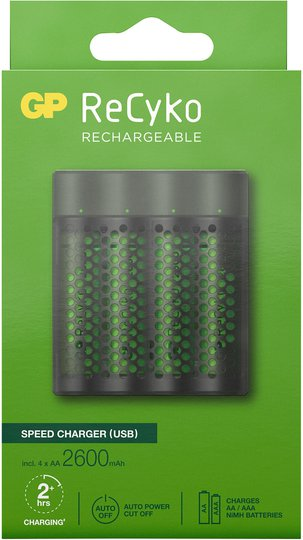 GP Batterier ReCyko M451 Speed Batterilader USB