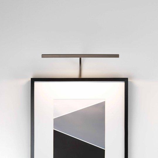 Astro Mondrian Frame Mounted 400 vegglampe bronse