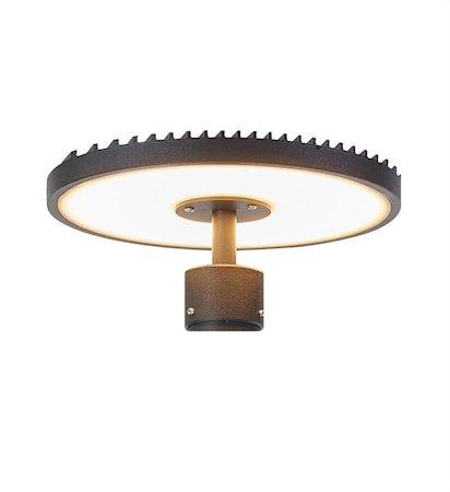 Plate Lampehode til 107122 Svart
