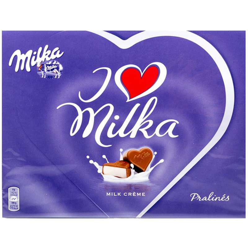 "Suklaapraliinit ""Milk Crème"" 120g - 47% alennus"