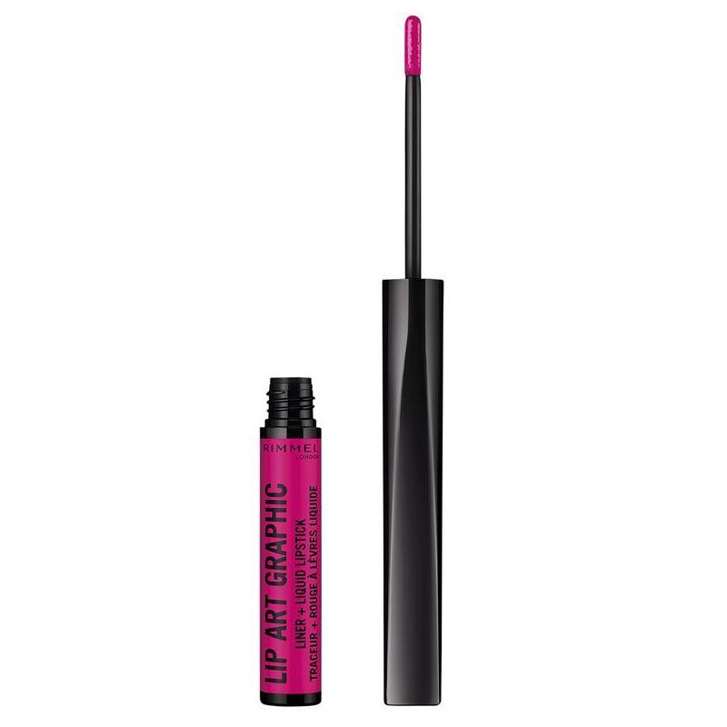 Nestemäinen huulipuna Lip art graphic 870 - 90% alennus