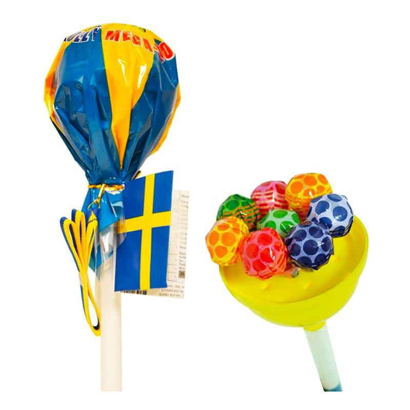 Mega Klubba Sverige med Blågult Band - 1-pack