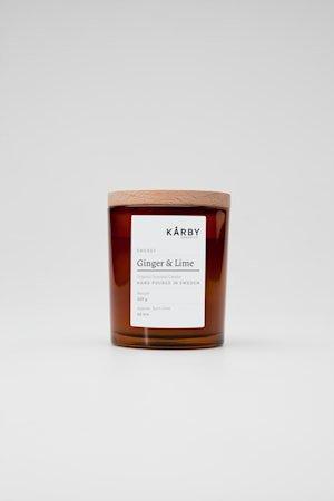 Kårby Organics Ginger & Lime - Original Candle