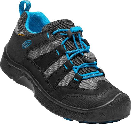 KEEN Hikeport WP Sneaker, Black/Blue Jewel 32-33