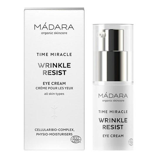 Madara Time Miracle Wrinkle Resist Eye Cream, 15 ml