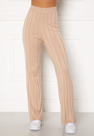 Happy Holly Anabelle Knitted pants Beige 40/42
