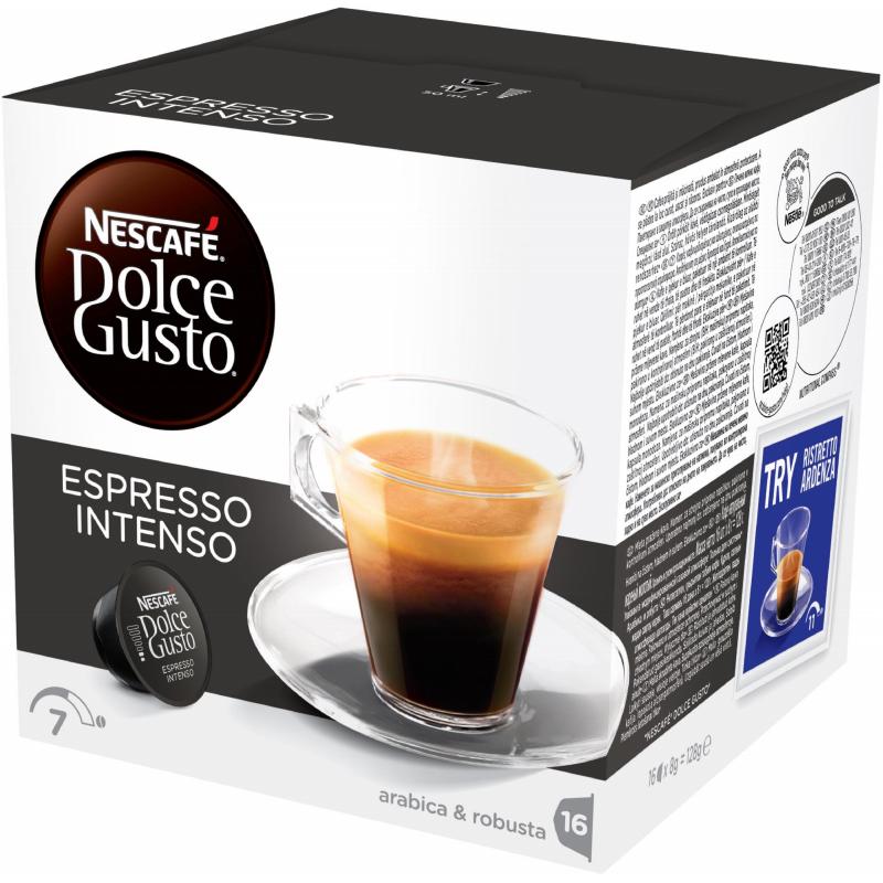 "Kaffekapslar ""Espresso Intenso"" 16 x 8g - 44% rabatt"