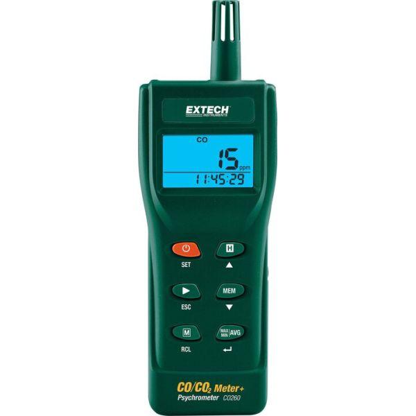 Extech CO260 Hiilidioksidimittari