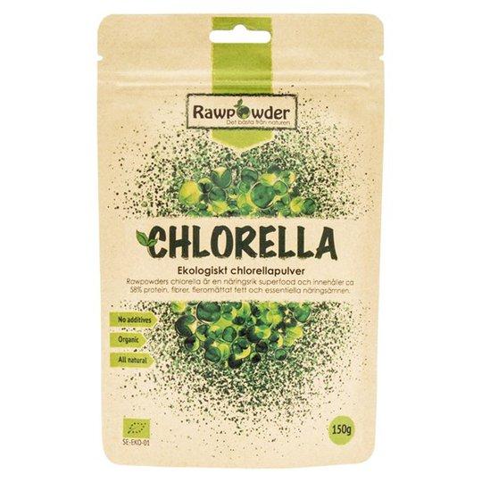 Rawpowder Ekologiskt Chlorellapulver, 150 g