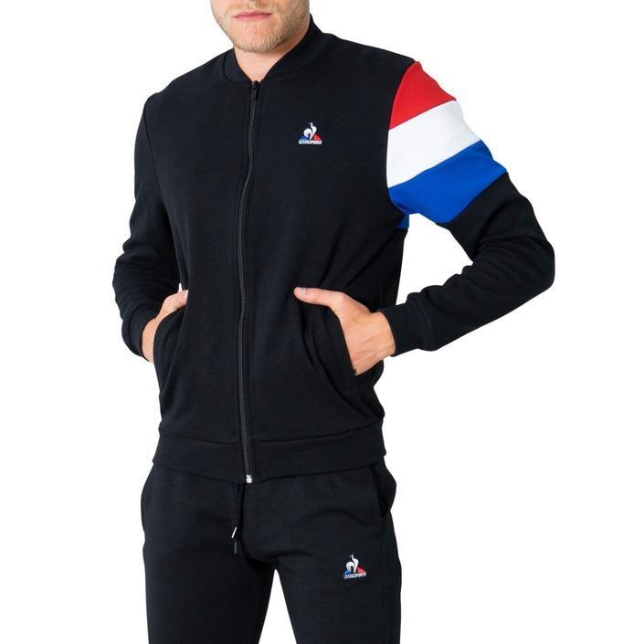 Le Coq Sportif Men's Sweatshirt Black 305018 - black M