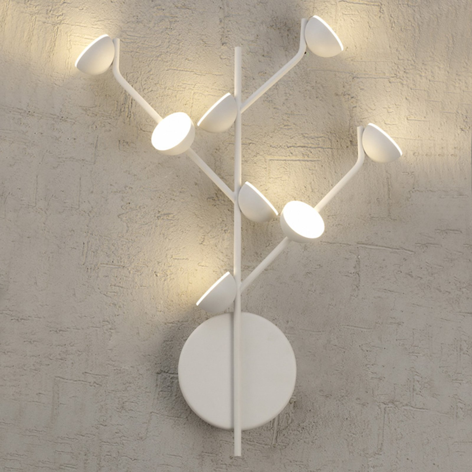 Adn LED-vegglampe 8 lyskilder