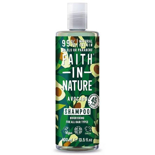 Faith in Nature Avocado Shampoo, 400 ml