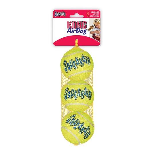 KONG AirDog Squeaker Tennisbollar (M)