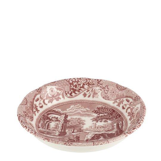 Spode - Cranberry Italian Skål 15 cm