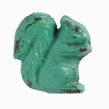 håndtak Ekorn 5x5 cm - lys Turkis